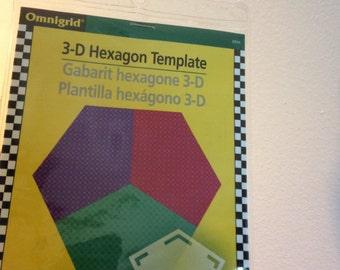 Omnigrid 3D Hexagon Template