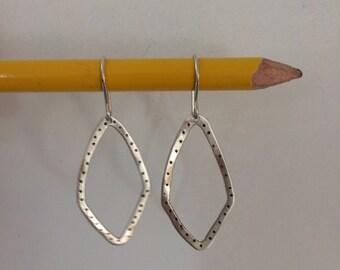 Dotty Diamonds Earrings handmade deana albers