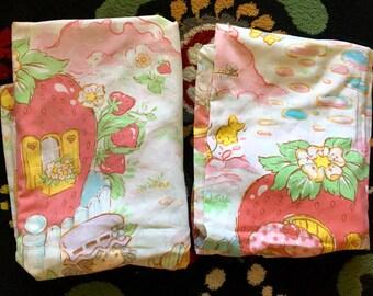 Strawberry Shortcake Sheet Set Twin