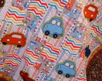 Crazy Car Quilt