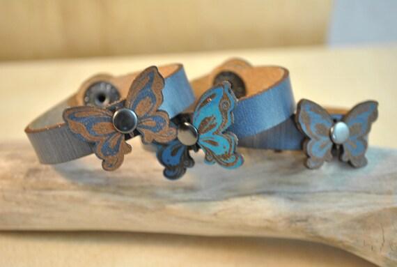 Little Kids Bracelet, Little Girl bracelet gift, birthday gift, leather bracelet