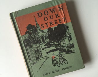SALE! 1941 Down Our Street. Illustrated Children's Book