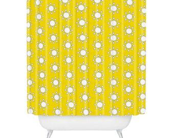 Little Suns Shower Curtain