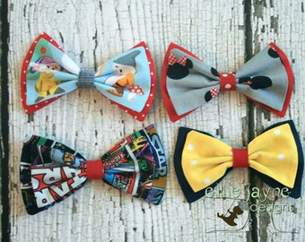 Fabric Hairbow to Match Your Outfit