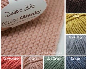 Debbie Bliss Rialto Chunky Yarn