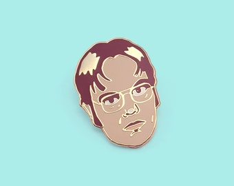 Lapel Pin Dwight Schrute from The Office US