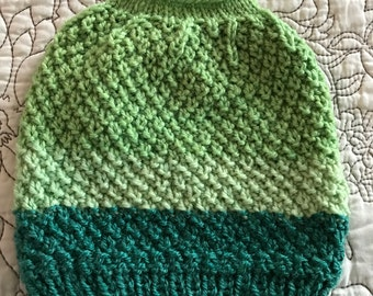 Messy Bun Beanie Hat Girls Tween and Teen and Women Pony Tail Hat