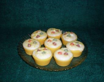 Grubby Wax Bakery Tart Cupcakes Banana Cream Pie