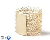 MINI Crochet Pattern, Wire Crochet Ring, Wire Crochet Pattern, Crochet PDF pattern, Stamp Ring Pattern, Unique crochet DIY Ring Pattern