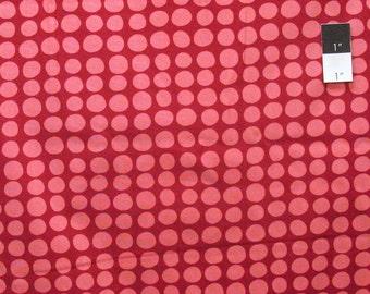 Amy Butler AB46 Love Sun Spots Wine Cotton Fabric By Yard