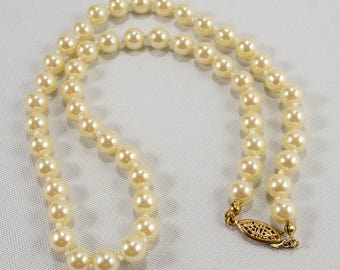 Gold Tone Oval Locket Amco 14k Gold Overlay Chain Necklace