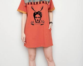 boho frida minidress