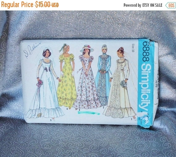 Holiday sale 1960 70 s maxi wedding dress with detachable train dress