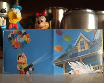 Russel Disneyland Map Wallet