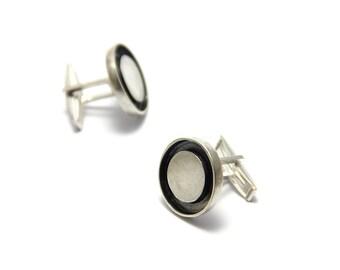 gemelos / colleras de plata