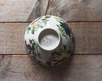 Antique Chinese Porcelain Bowl, Porcelain Bowl, 1920s, Table Wares, Baskets and Bowls