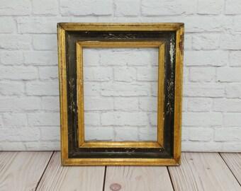 Vintage Ornate Wood Picture Frame