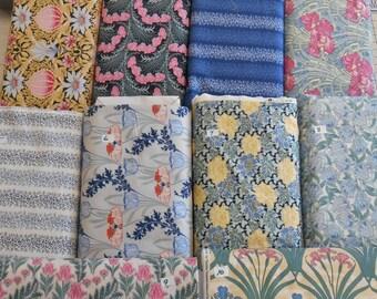 "REVIVE ART NOUVEAU Timeless Treasures 100% woven cotton fabric 1 yd x 44"" wide"