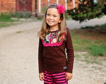 Coco Long Sleeve Ruffle Shirt -SALE