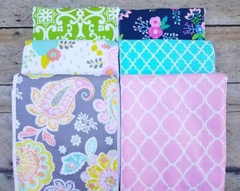 Monogrammed Burp Cloth, Create your own Gift Set, Personalized  Burp Cloths, Girl Burp Cloth, Floral Baby Gift