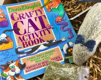 Cat Crafts, Humor Cat Book, Knitting Patterns for Cat Toys, Cat Toys, Kid's Birthday Gift, Marvelous Melissa, darn!socks, Three Blind Mice