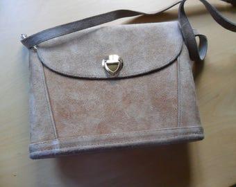 Vintage Deerskin Shoulder Bag