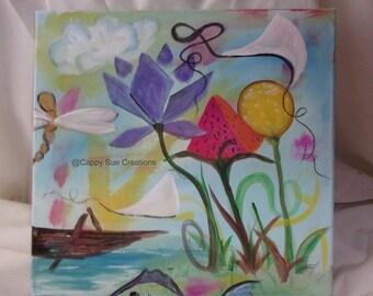 Summer Time memories painting