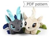 Kirin Qilin Youkai Monster Asian Japanese Unicorn Animal Plush Sewing Pattern .pdf Tutorial