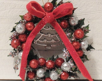 Dollhouse Christmas Wreath