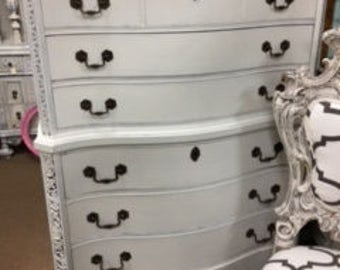 7 Drawer Chest in Creamy White
