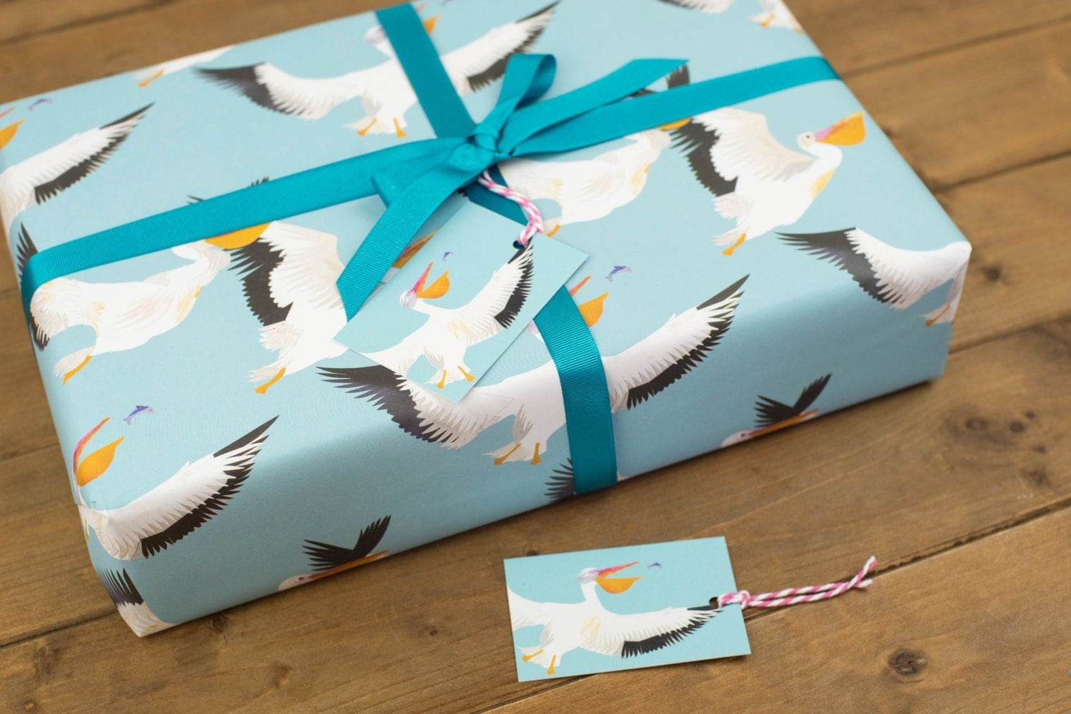 pelican party wrapping paper 100 recycled. Black Bedroom Furniture Sets. Home Design Ideas
