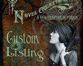 Custom Order for Susan - Custom Book Purse - Custom Book Clutch - Custom Book Cover Handbag - Graduation Bookish Gift