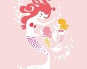 """8X10"""" Mermaids for Lauren"""