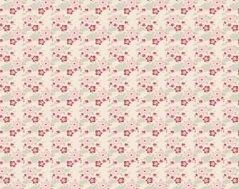 Tilda Fabric, Tilda Zoe White Fat Quarter, Tiny Treasures Collection, Tilda Fabric 480780, Fat Quarter, 50 cm x 55 cm