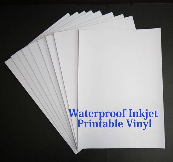 Divine image with printable inkjet vinyl