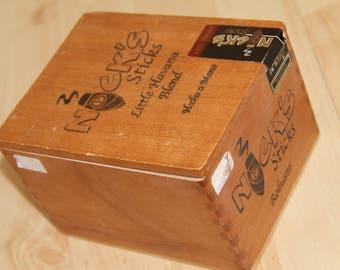 Wood Cigar Box - Nicks Sticks 38