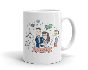 Mug | Custom Mug Design | Your Mug on a Mug! | Illustrated Mug