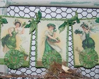 St Patrick's Banner St. Patrick's Garland