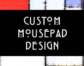 Custom Mousepad Design - Personalized Photo Mousepad, Mousepad Designs for Family and Business Reunions & Conferences, Office Desk Gift