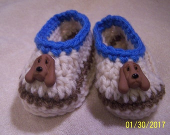 Dog booties etsy beige booties with dog ccuart Images