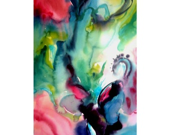 Beauty of Now - Fine art limited edition print of my original painting - Beauty and Kindness for your space