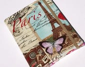 Paris Kindle Paperwhite Case, Nook Glowlight Case, all sizes, Everything Paris Tablet hardcover Cover