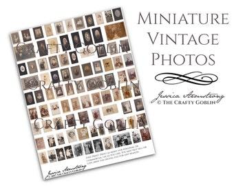 Miniature Vintage Photos