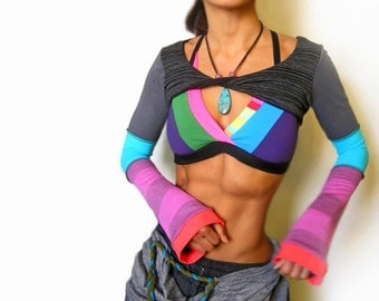 Color Rush Crisscross Sports Bra