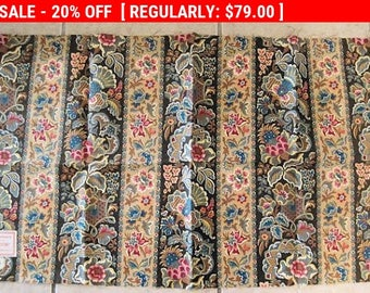 Antique Fabric French Cotton 1800s