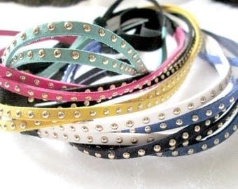 Your Choice of Color Studded Double Strand Headband
