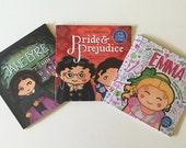 Any 3 paperback Little Literary Classics books sale set