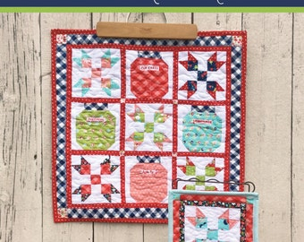 A Year of Mini~ June Quilt Pattern