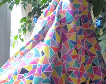 MidWifery Weigh Sling - Organic Cotton - Facets (Don't let hate ruin your day)