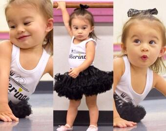 Girls , Infant Ballerina Tank top for ballet classes dance